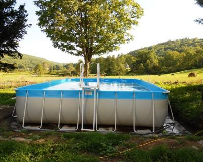 Intex Pool In Winter