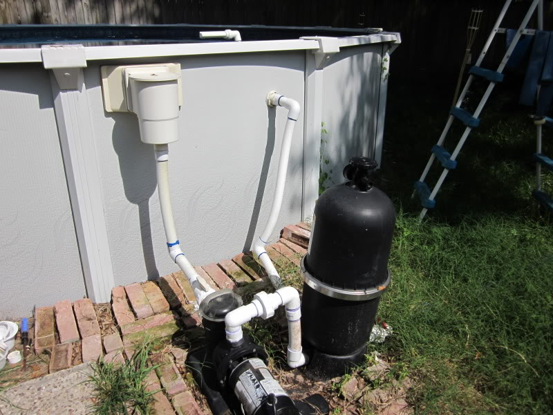 Filter plumbing for How to install swimming pool plumbing