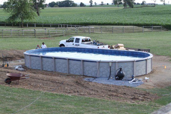 Grass Under Pool