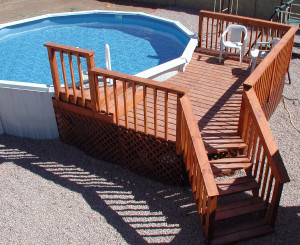 Resin Pool Decks