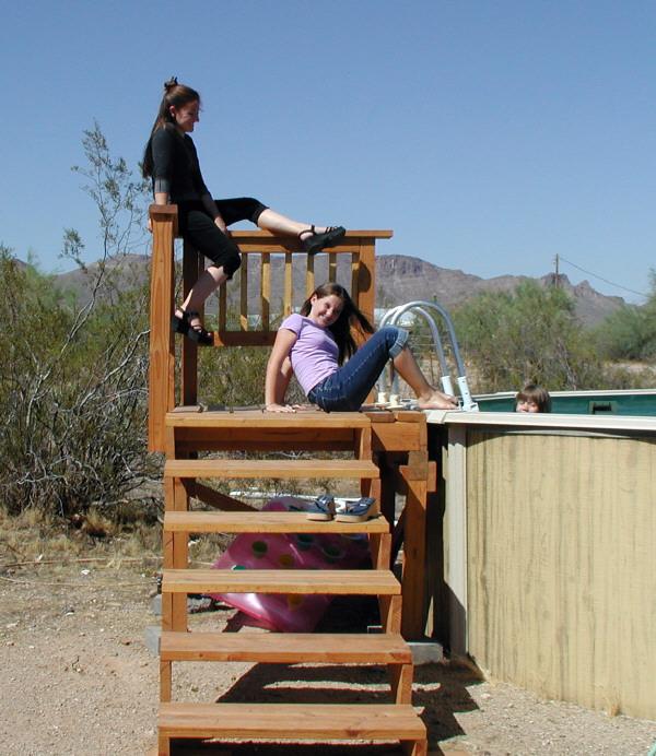 Wood Pool Decks